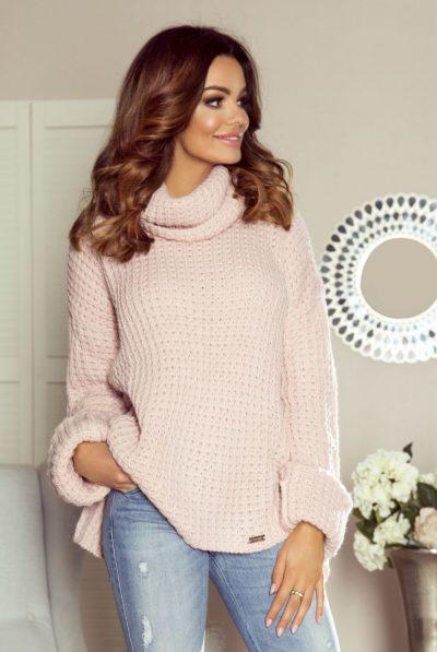 110-02-cloe-sensual-dress-with-a-sensual-neckline-and-falling-shoulders-dark-pink