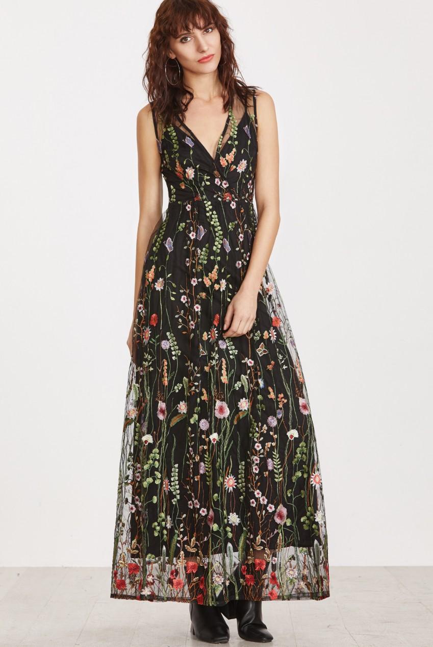 black-mesh-overlay-dress