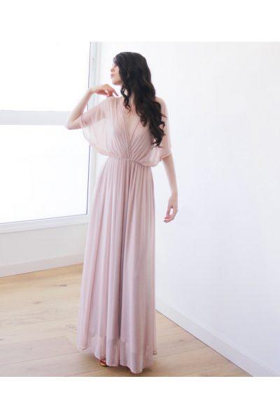Blush Pink sheer dress