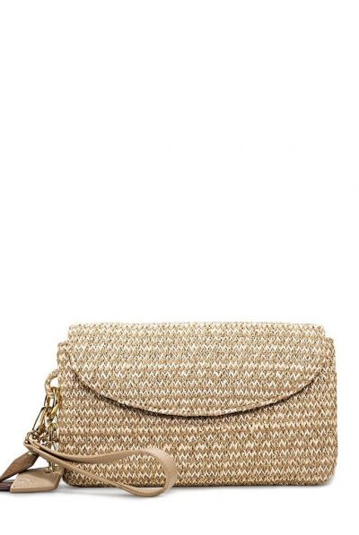 Gold bag strap