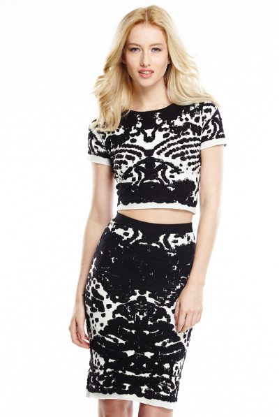 Lucy paris crop and skirt