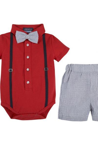 Polo shirt & woven shirt
