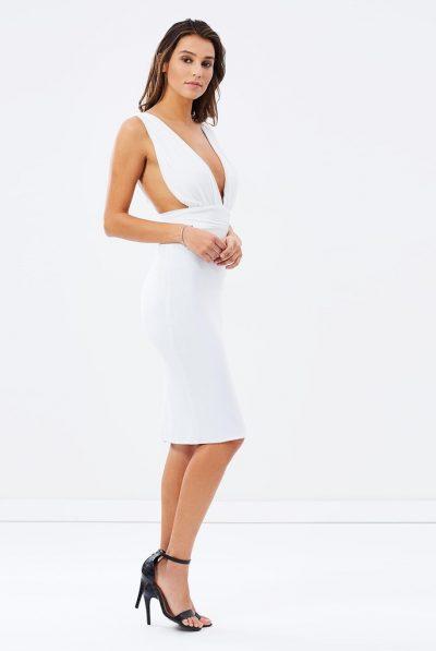 Skiva white cocktail dress