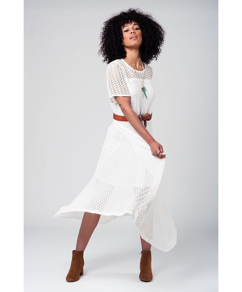 white crochet maxi dress ? 75 00 semi transparent white crochet maxi ...