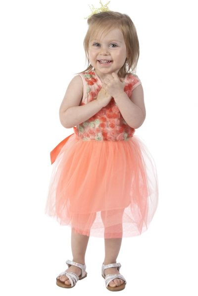 andy & evan flower tulle dress