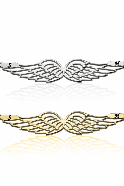 angel wing initial