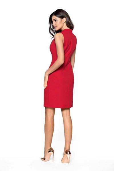 back of blazer dress