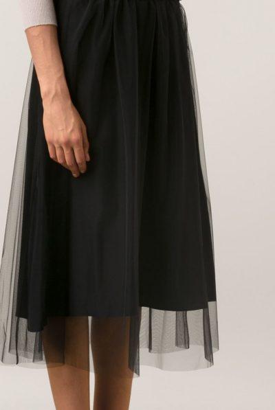 black mesh skirt 3