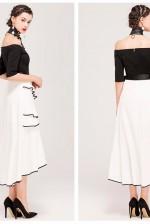 black & white dress 68