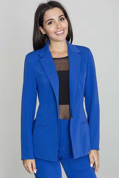 blue jacket collar