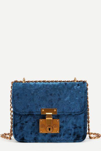 blue velve bag 5