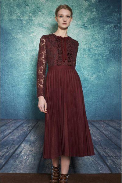 darccy & soma wine lace dress 67