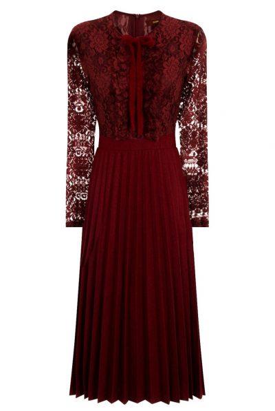 front ruffle dress 67889