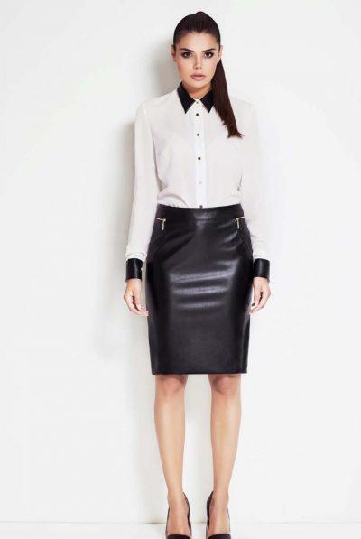 leather skirt 679