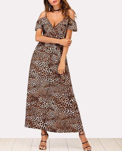 leopard print maxi 5