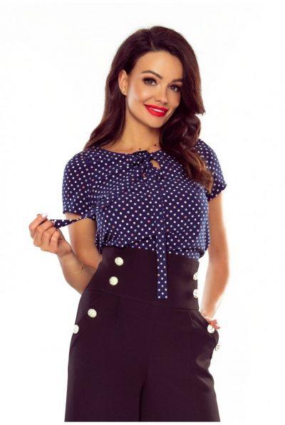 nay polka blouse