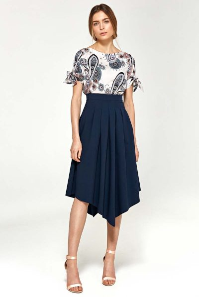 pattern top and skirt