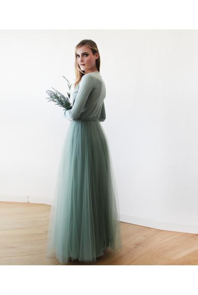 sage green bridesmaid 5
