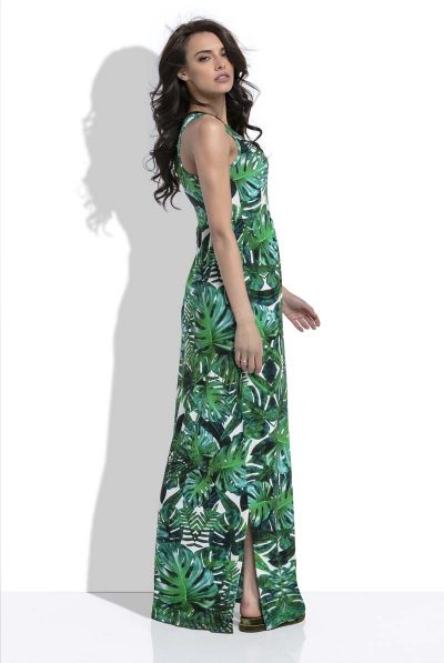 side of maxi dress
