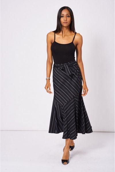 stripe skirt 6