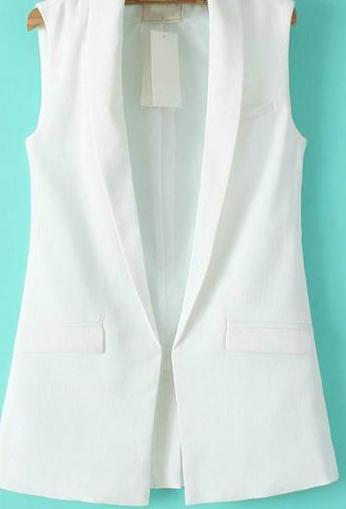white waistcoat