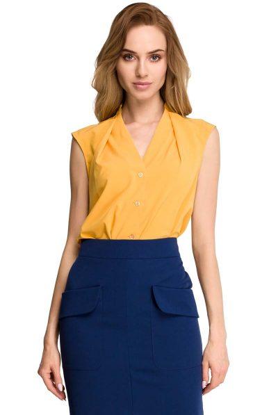 yellow blouse 56