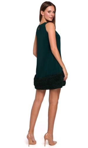21056 back border xmas dress