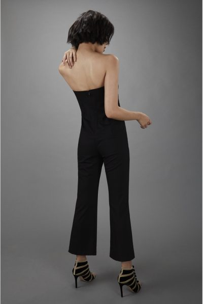 BACK OF BLACK JUMPSUIT