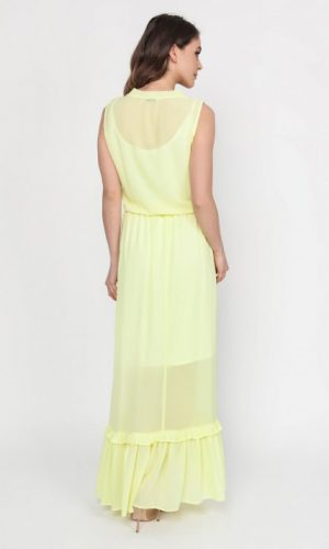 BACK OF YELLOW MAXI