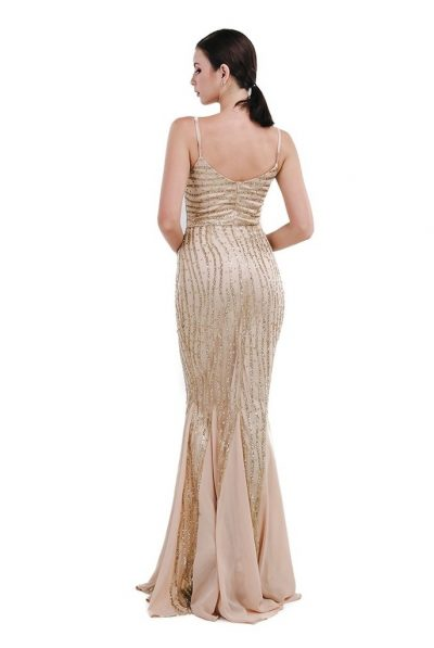 Belluci Gown back