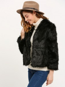 black-fur-coat