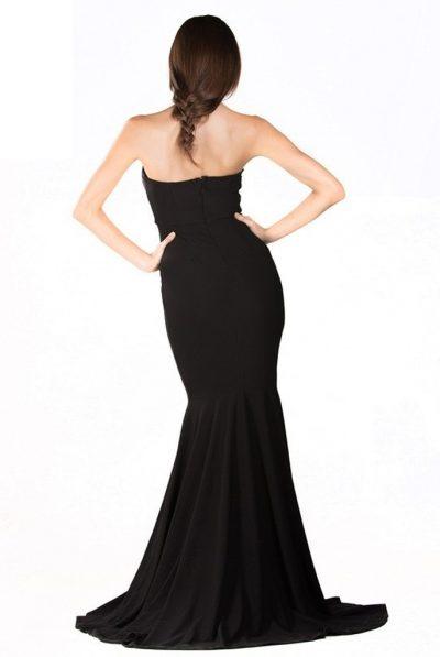 Black mermaid dress 56