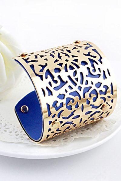 Blue print cuff