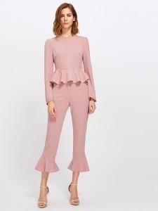 Calopy Peplum Suit