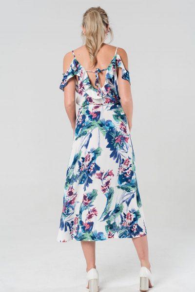 FLORAL BACK DRESS 5
