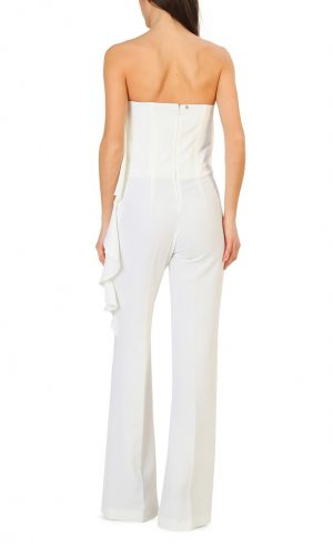 JUMPSUIT WHITE RUFFLES