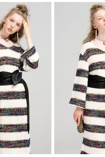 KNITTED DRESS 6789