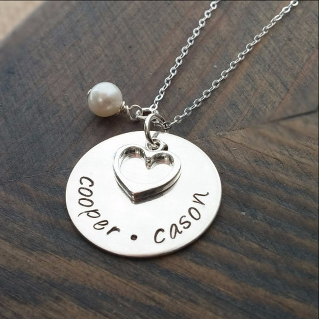 74d70b245 PersonaliSed Necklace with Kids Names