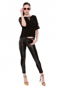 LEATHER TROUSERS DOLLY