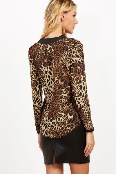 Leopard print blouse 3