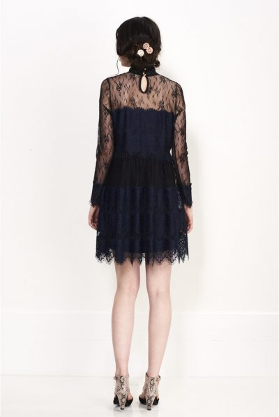 MYSTERIES ;LACE DRESS78