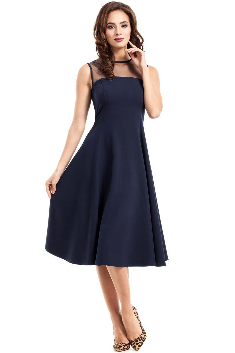 6497a47e886c Navy Midi Dress by Moe