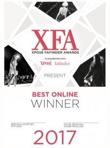 Online Winner Cert