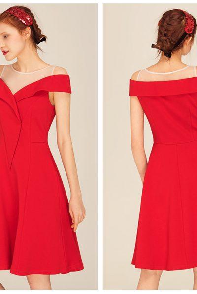 Red Empress Dress