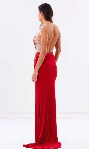 SKIVA RED DRESS