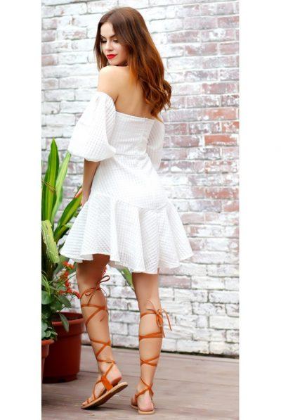 White Lantern dress sleeves 67