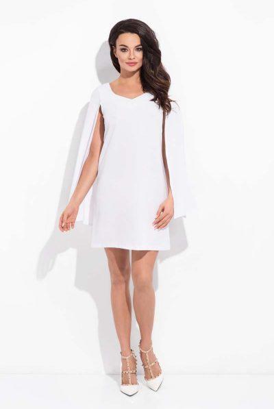 White cape dress 7