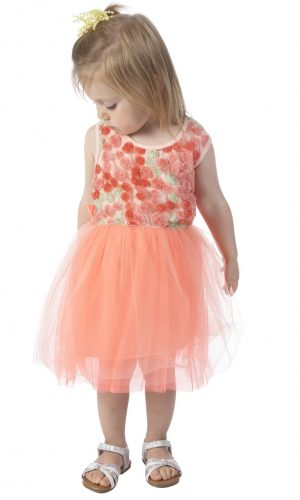 andy & evan tulle dress