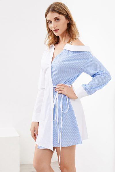 asymeetricla shirt dres top