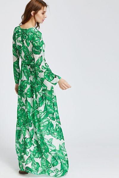 back leaf maxi